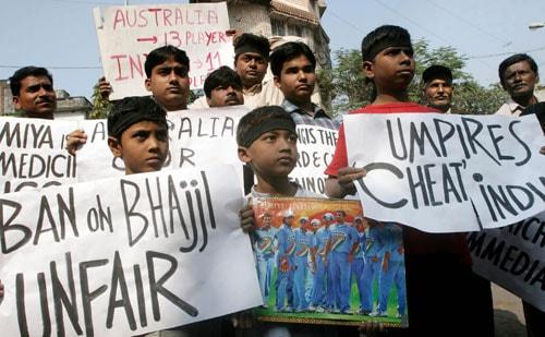 India-Australia controversies