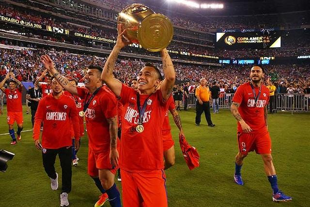 Chile Stun Argentina In Penalties To Defend Copa America Title