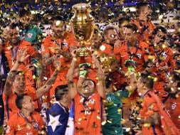 Photo : Chile Stun Argentina In Penalties To Defend Copa America Title