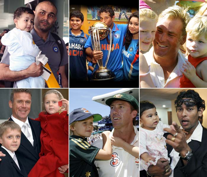 Fathers first, cricketers second