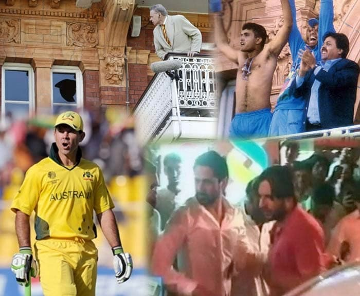 When cricketers vent anger