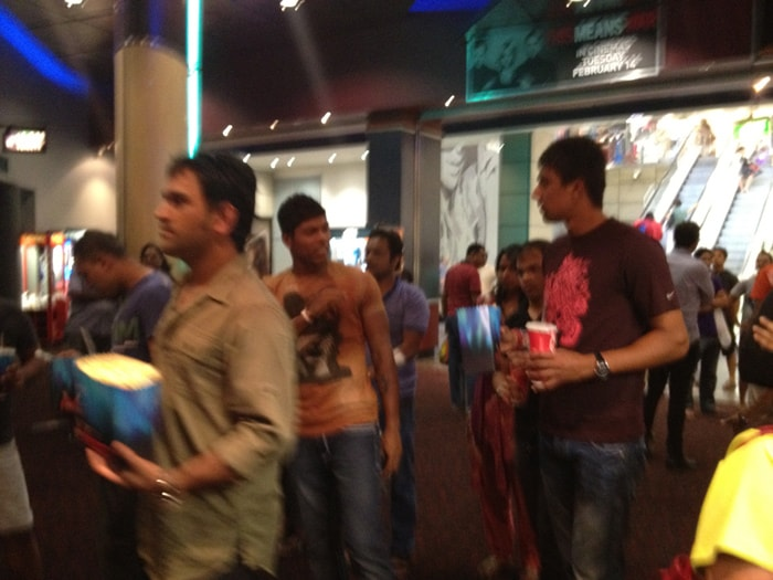 Dhoni, Umesh, Sharma watch Agneepath