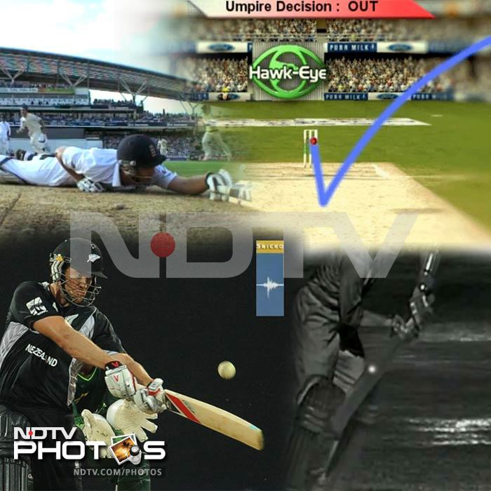 Technologies used in cricket