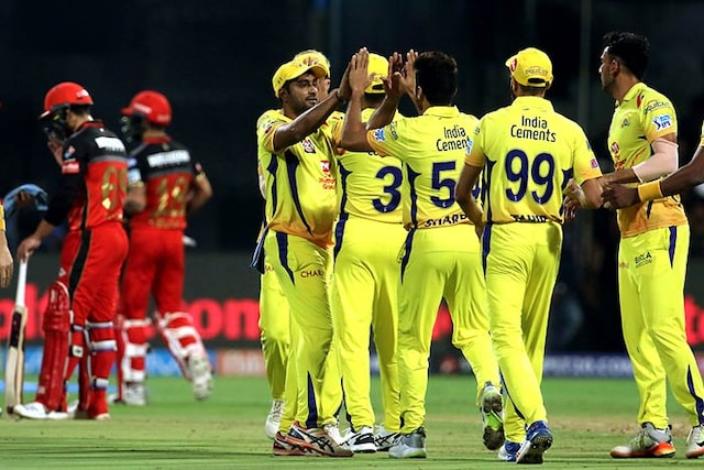 IPL 2018: MS Dhoni Leads Chennai Super Kings To A Thrilling Win Over Royal Challengers Bangalore