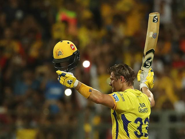 IPL 2018 Final: Shane Watson Ton Takes Chennai Super Kings To Third IPL Title
