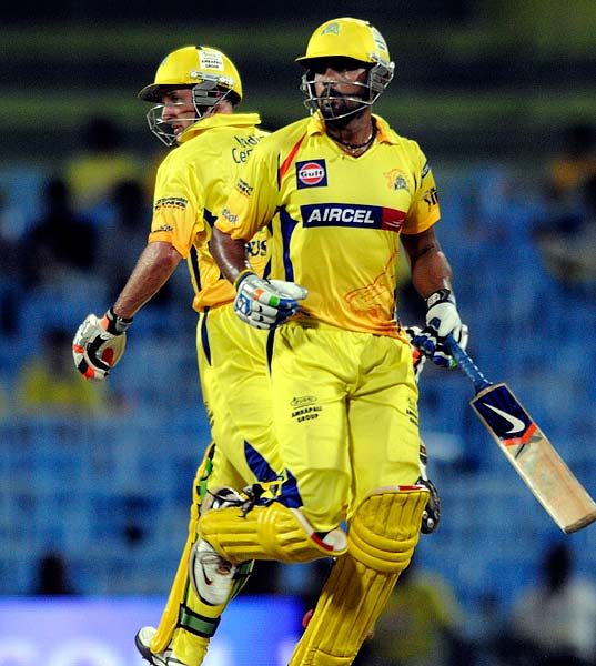 IPL4: Chennai Super Kings vs Pune Warriors