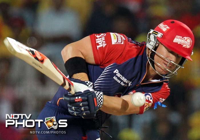 IPL 5: Dominant Chennai rout Delhi by 9 wickets