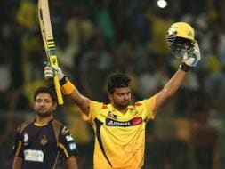 Photo : CLT20: Suresh Raina's Maiden Ton Helps Chennai Super Kings to Second Title