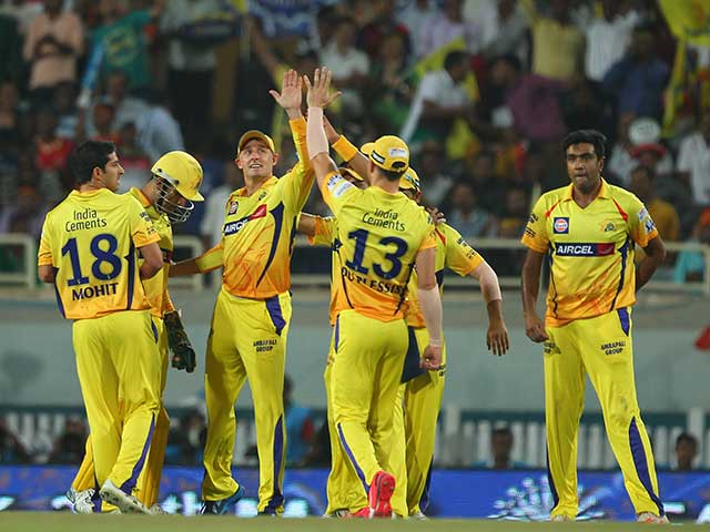 IPL 8: Chennai Edge Past Bangalore to Enter Record Sixth Final