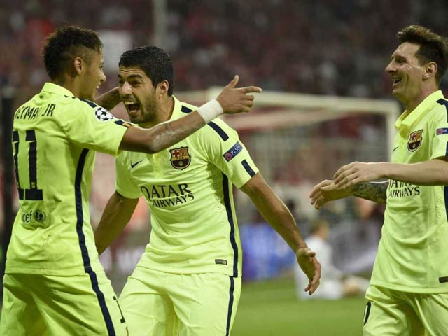 Photo : Champions League: Barcelona Enter Final on Aggregate Despite Bayern Munich Loss