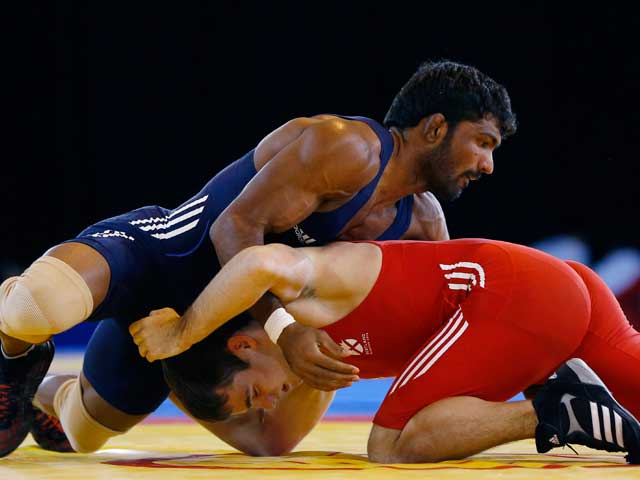 Photo : CWG: India Shine Bright With 13 Golds!