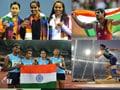Photo : CWG: India's Gold winners