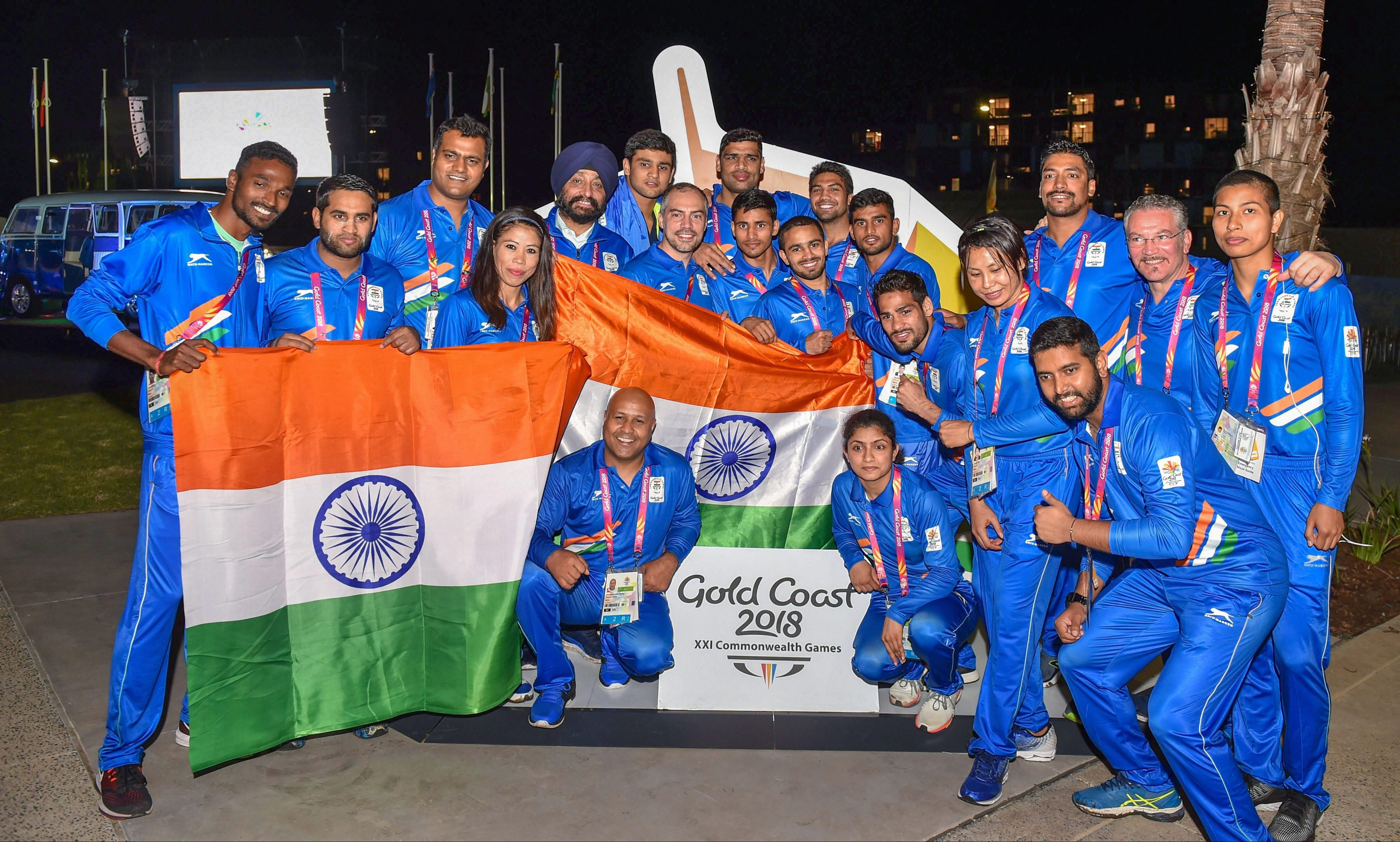 Indian Contingent At 2018 Commonwealth Games