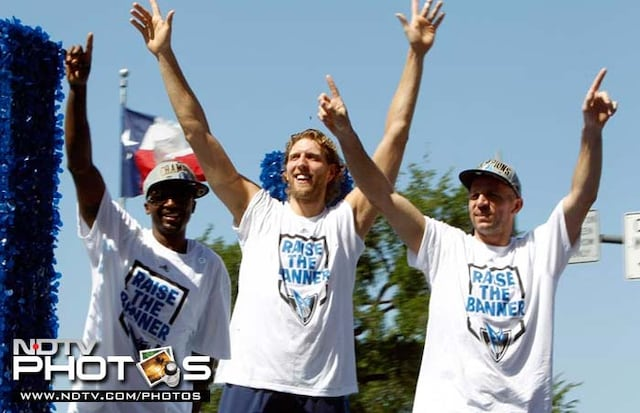 Dallas Mavericks Victory Parade