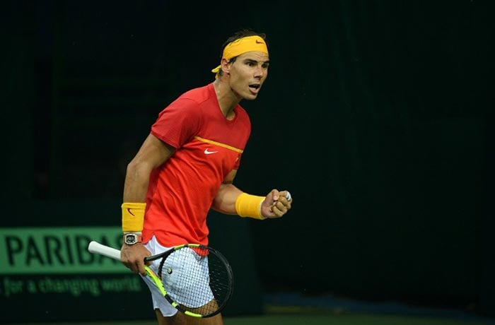 Davis Cup: Rafael Nadal Leads Spanish Armada to Victory Over India
