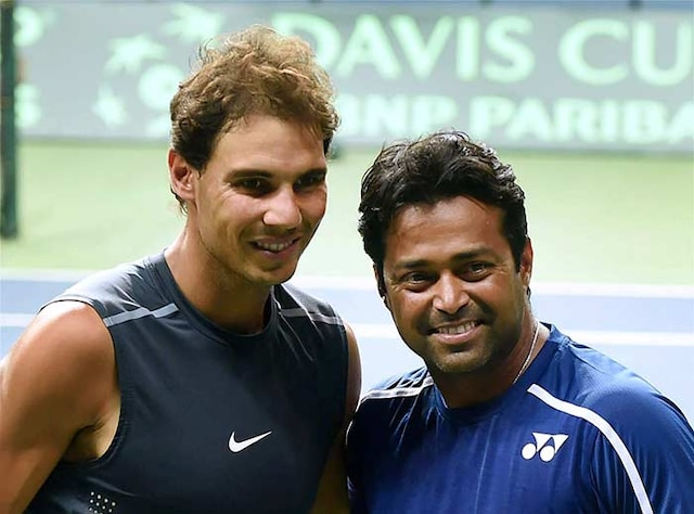 Davis Cup: India And Spain Sweat it Out Ahead of Big Clash