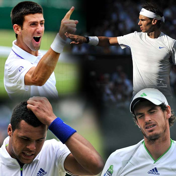 Djokovic, Nadal progress to Wimbledon final