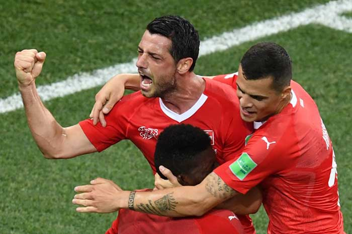 FIFA World Cup 2018, Day 14: Brazil, Sweden Win; Switzerland Held