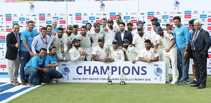 Virat Kohli-Led India Seal Series 4-0 vs England