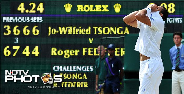 Federer shocked on Day 9 of Wimbledon