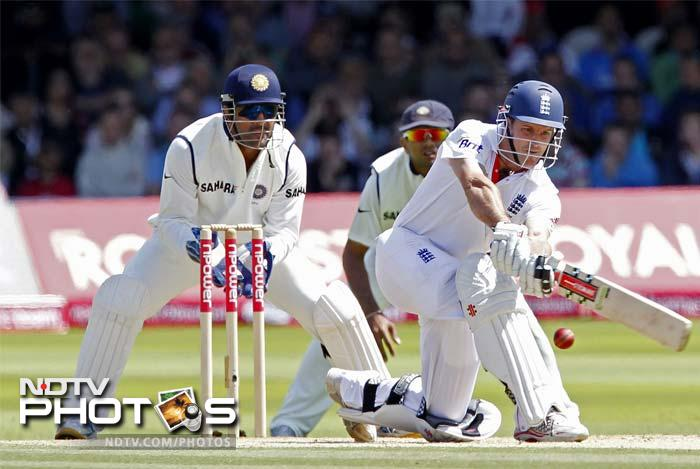 1st Test:  England vs India (Day 4)