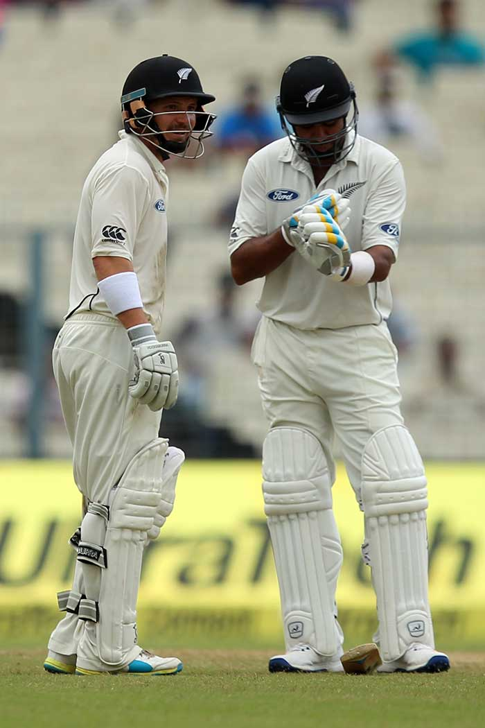 Rohit, Saha Put India in Commanding Position