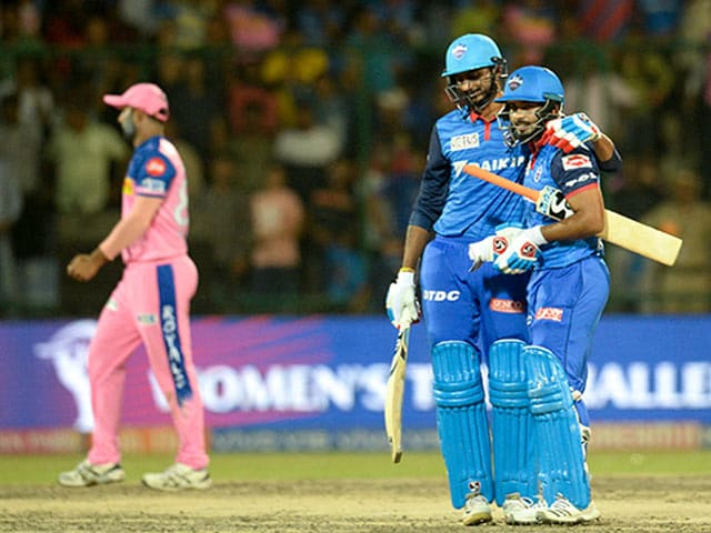 Delhi Capitals Wallop Rajasthan Royals In Last League Match