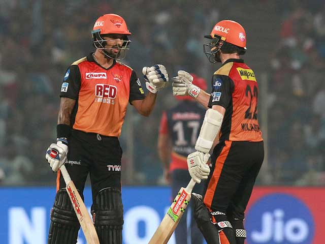 IPL 2018: SunRisers Hyderabad Outplay Delhi Daredevils To Secure Playoffs Berth