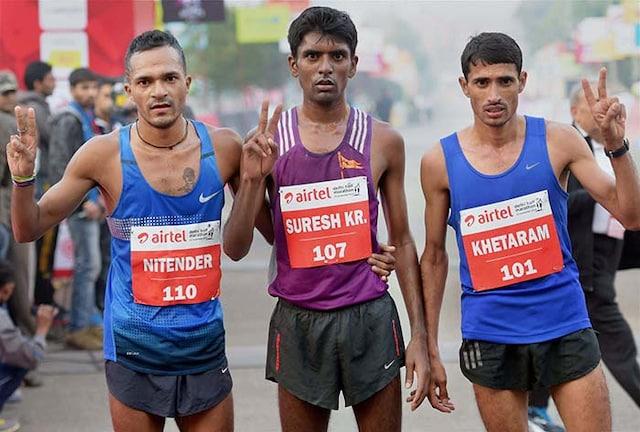 Delhi Marathoners Get Bollywood Boost