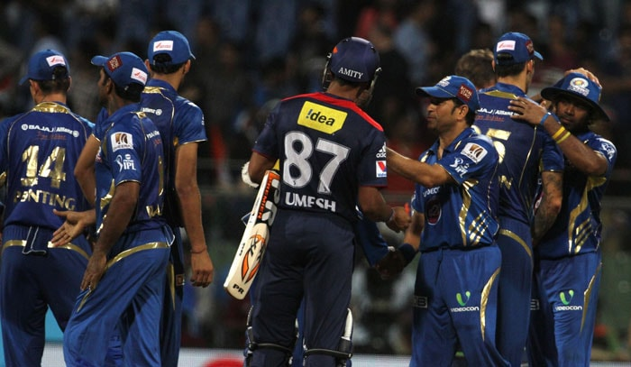 Mumbai Indians crush hapless Delhi Daredevils in a lop-sided match
