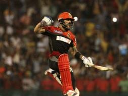 Photo : Superman Virat Kohli Guides RCB to Playoffs With Win Over DD