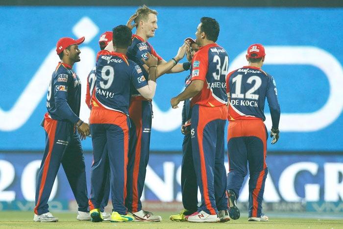 आईपीएल: काम न आई मॉरिस की फिफ्टी, गुजरात ने दिल्ली को 1 रन से दी मात