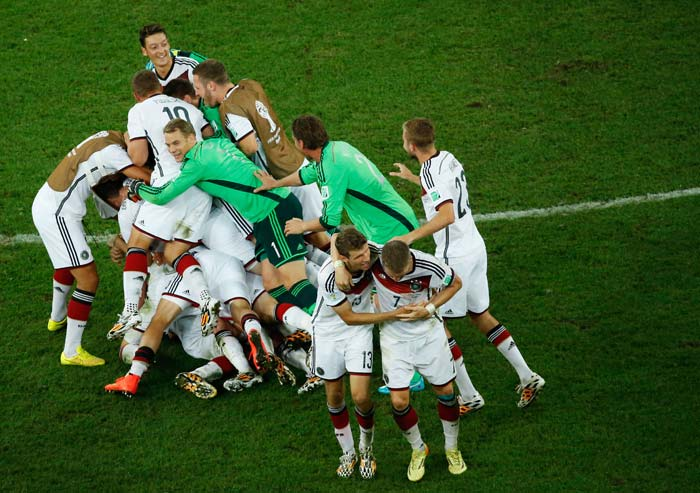 FIFA World Cup: How Germany Soaked in the Joy of Ending a 24-Year Drought