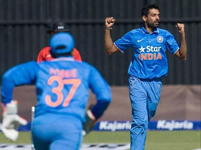 India Seal Series Win Over Zimbabwe