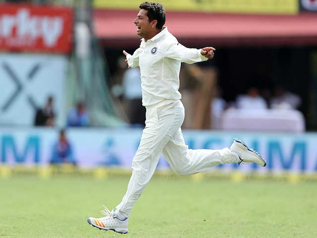 Dharamsala Test, Day 1: Kuldeep Helps India To A Commanding Position
