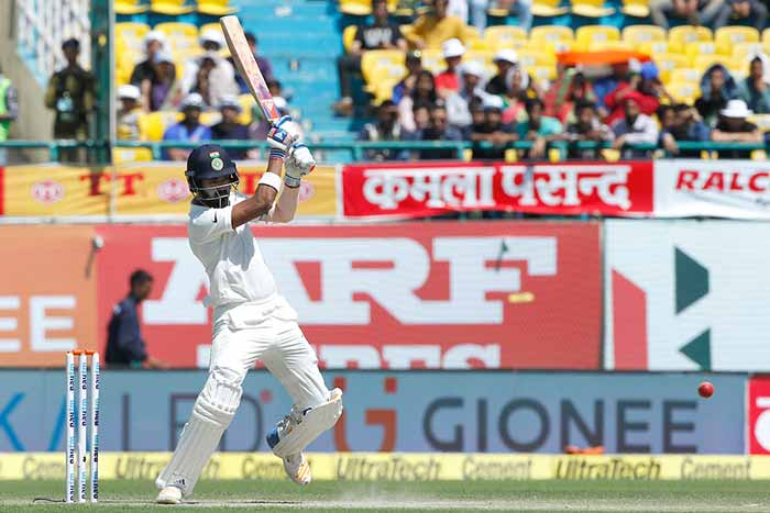 Dharamsala Test, Day 2: Nathan Lyon Dents India