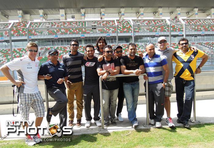 Dhoni, Sachin zip zap zoom at Buddh International Circuit