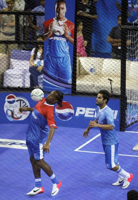 MS Dhoni's soccer date with Didier Drogba