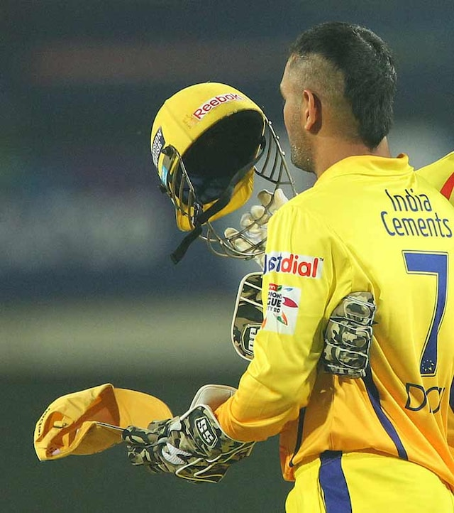 Dhoni Joins The Mohawk Bandwagon!