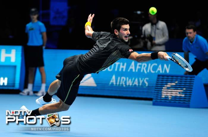 A starry affair as Novak Djokovic wins year-ender beating Roger Federer