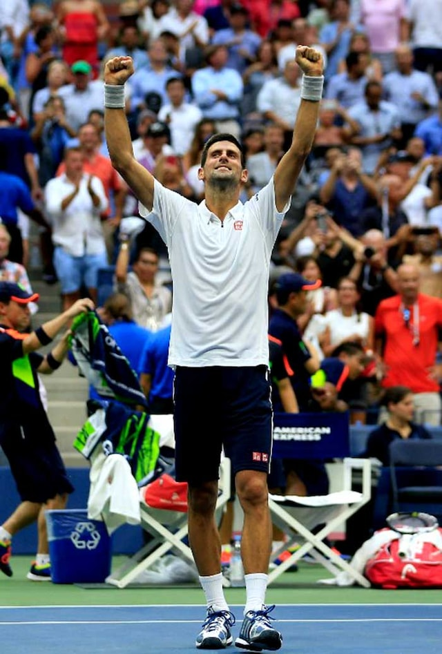Djokovic Sets Up US Open Final Clash Against Wawrinka