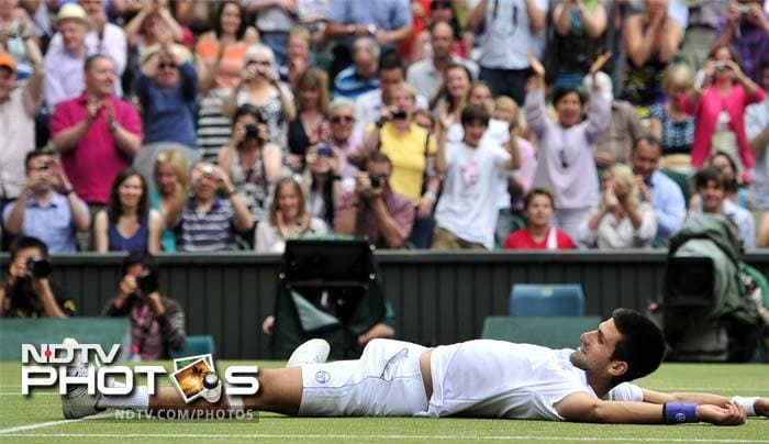 Djokovic crowned new Wimbledon champion