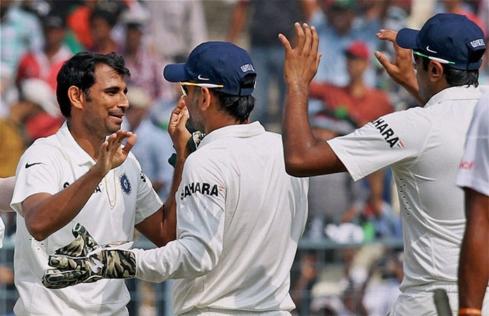 Mohd Shami shines on Day 1 of 1st Test vs West Indies