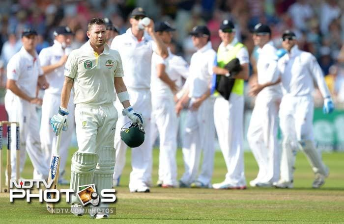 First Test, Day 4: England on the brink of victory over Australia