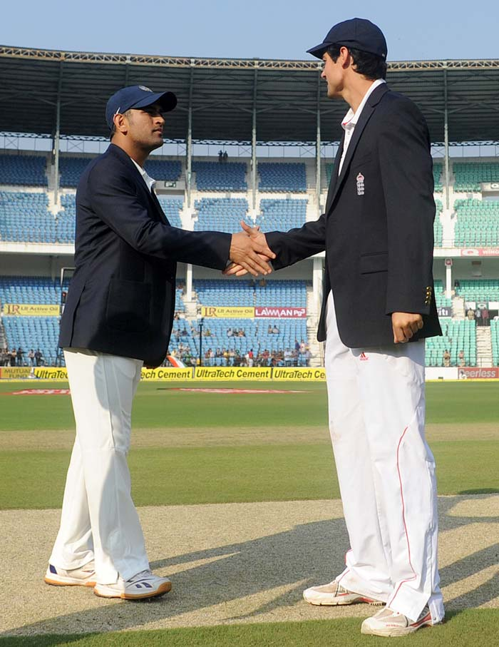 Nagpur Test, Day 1: India, England share spoils on a dull day