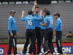 Photo : England End India's Misery, Knock Team Out of Tri-Series