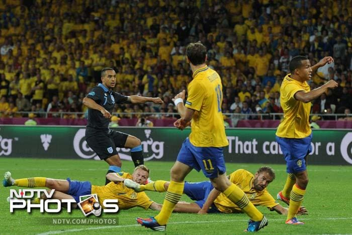 Euro 2012: England send Sweden crashing out