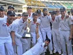 Photo : Nagpur Test, Day 5: England win Test series in India after 28 years