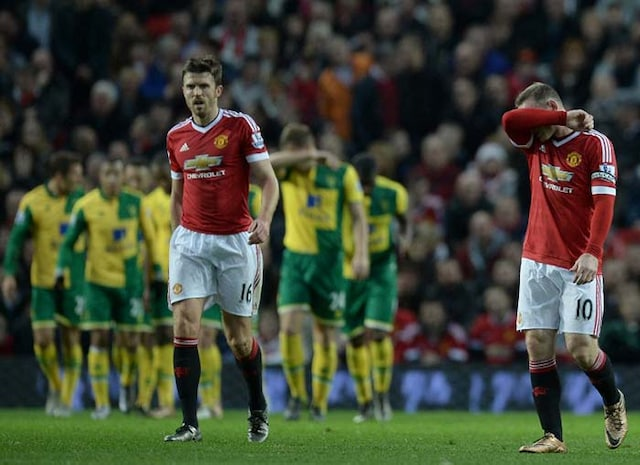 EPL: Manchester United suffer Norwich setback, Leicester City extend lead