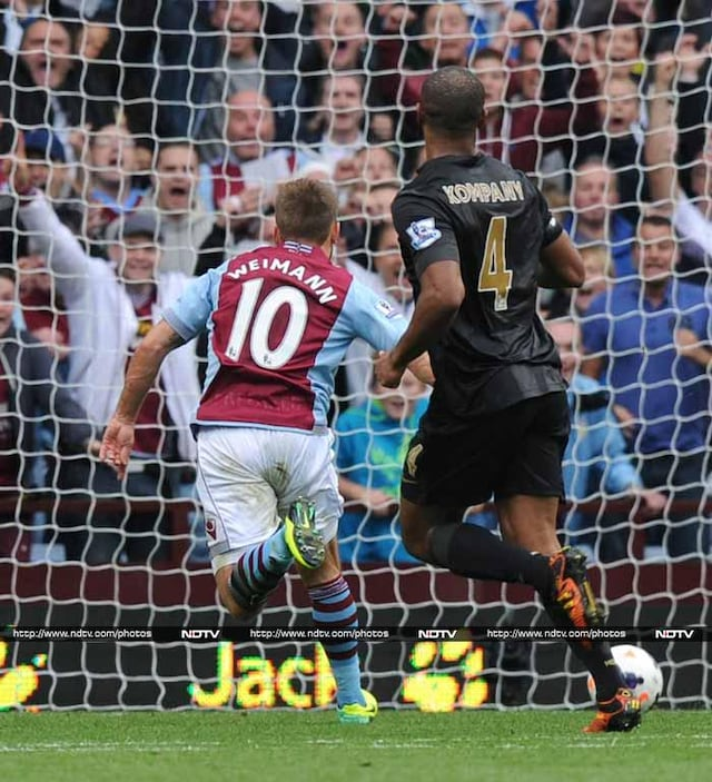 EPL round-up: Manchester giants stunned, Arsenal go top of standings